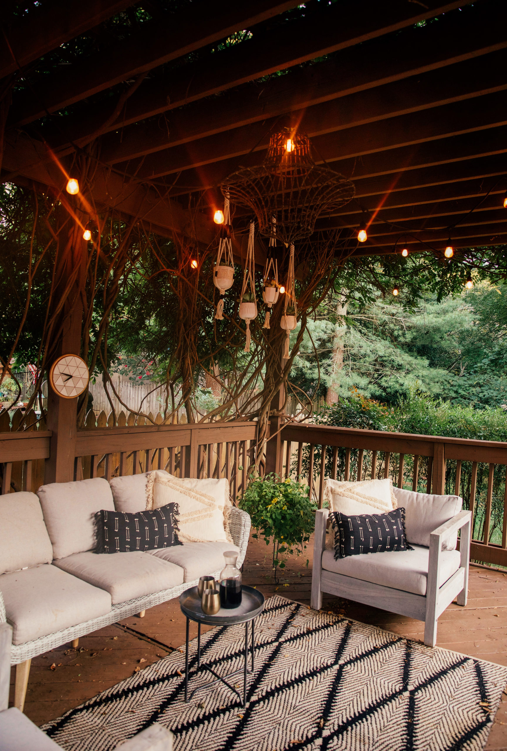The Back Patio In The New House Outdoor Furniture Sale In Honor Of Design