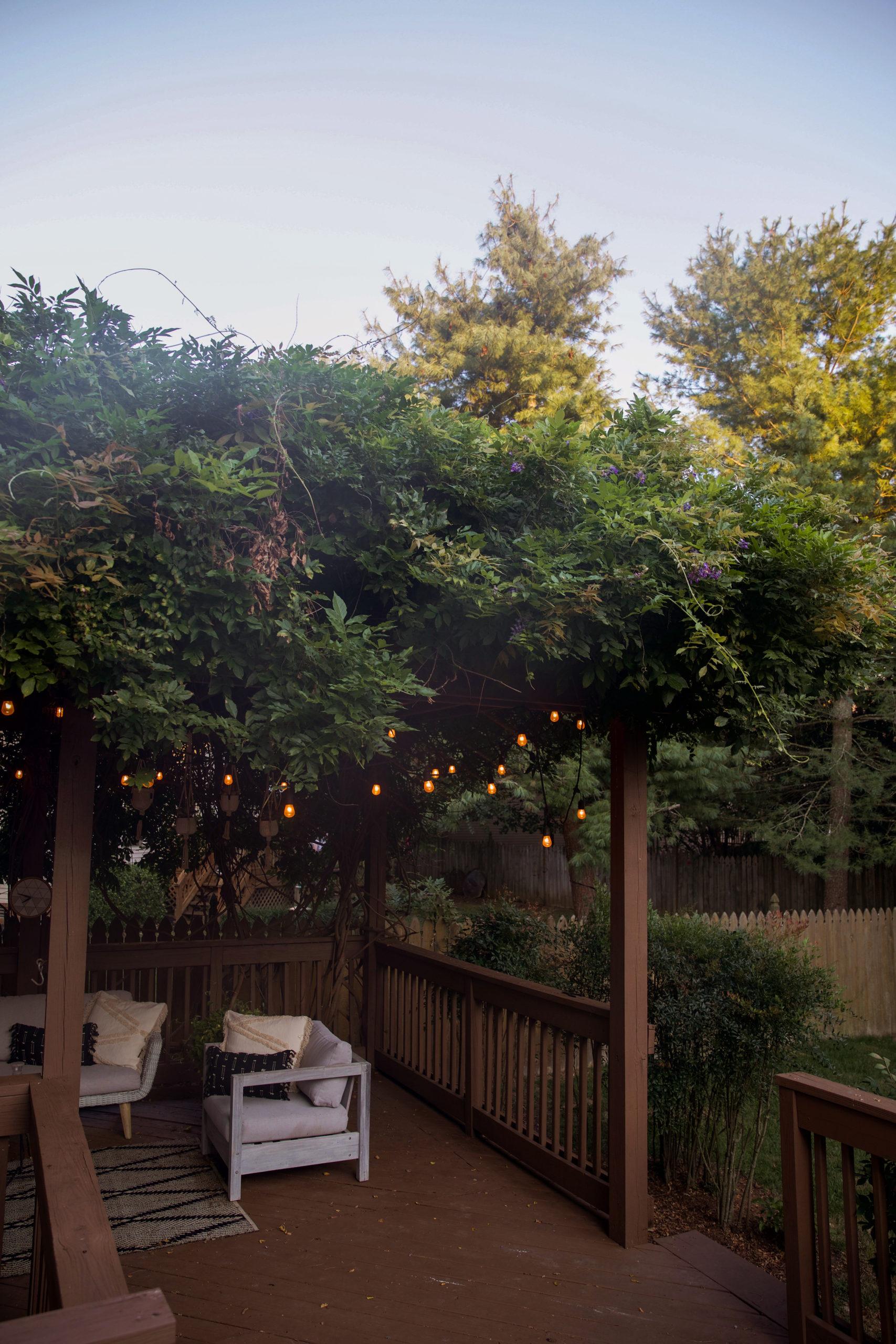 wisteria pergola patio decor design