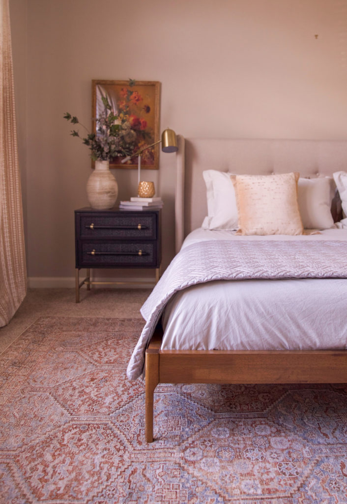 bedroom design - loloi rugs