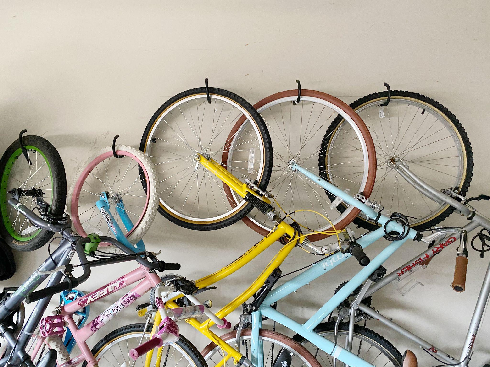 garage storage - bike storage