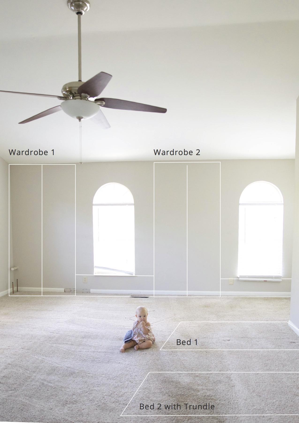 girls bedroom plans