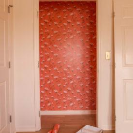 wallpaper closet - whimsical wallpaper