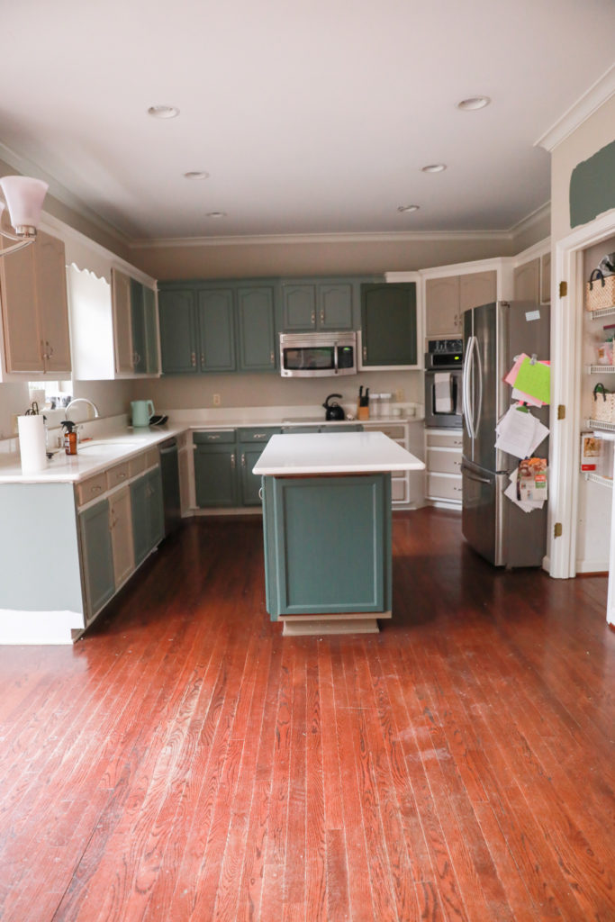 white oak flooring before and after