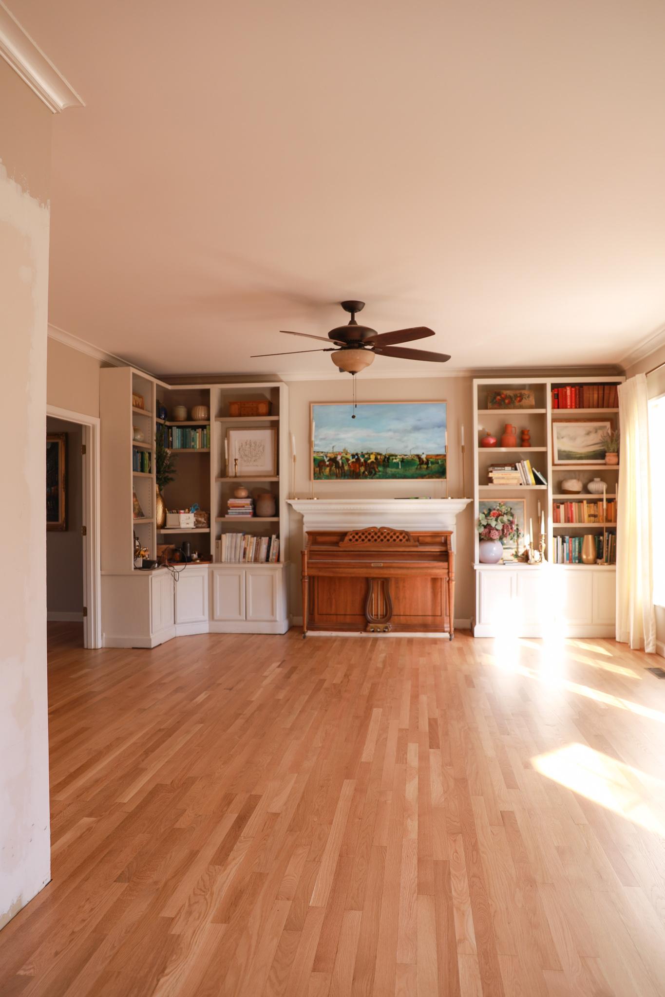 White oak flooring - resurfacing floors