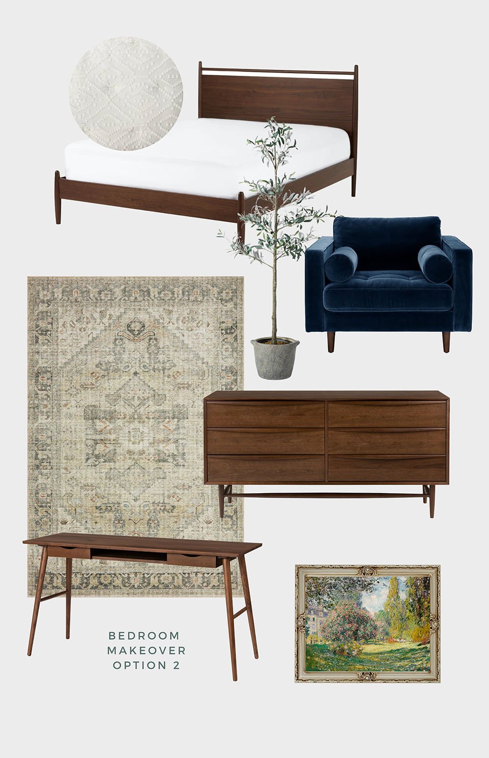 primary bedroom makeover article furniture