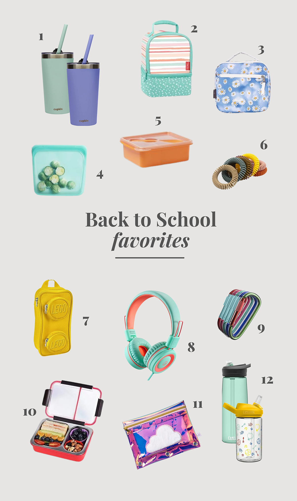 back to school guide - lunch boxes
